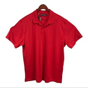 Under Armour Performance Golf Polo Red, XXL NWT